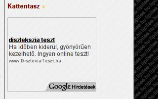 diszlekszia