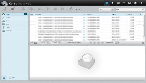 Kolab - Inbox